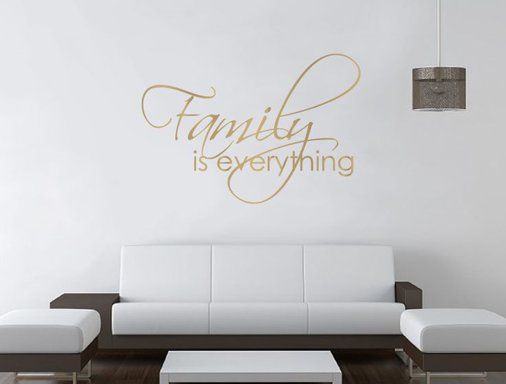 Family Is Everything Wall Sticker | Wall Sayings