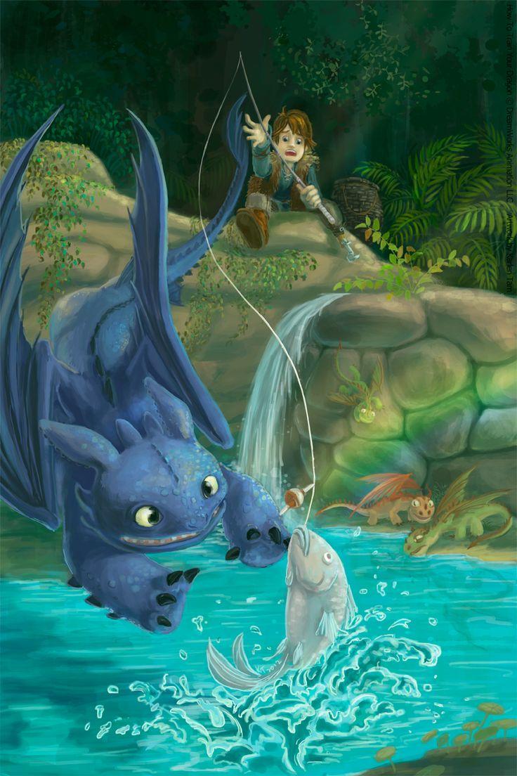 Dragons Like Fish by kGoggles.deviantart.com on @deviantART