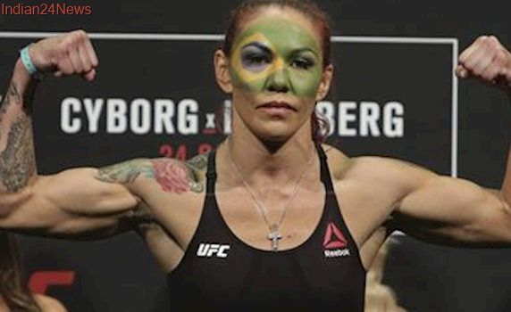 "USADA clears UFC's Cristiane ""Cyborg"" Justino of potential doping violation"