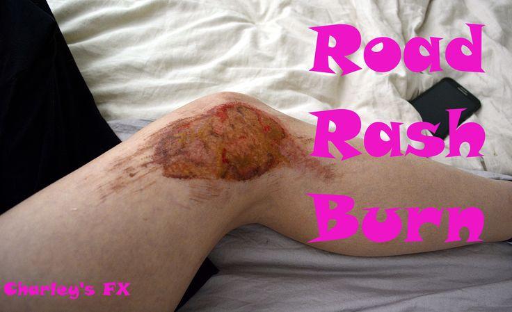 Road rash SFX makeup