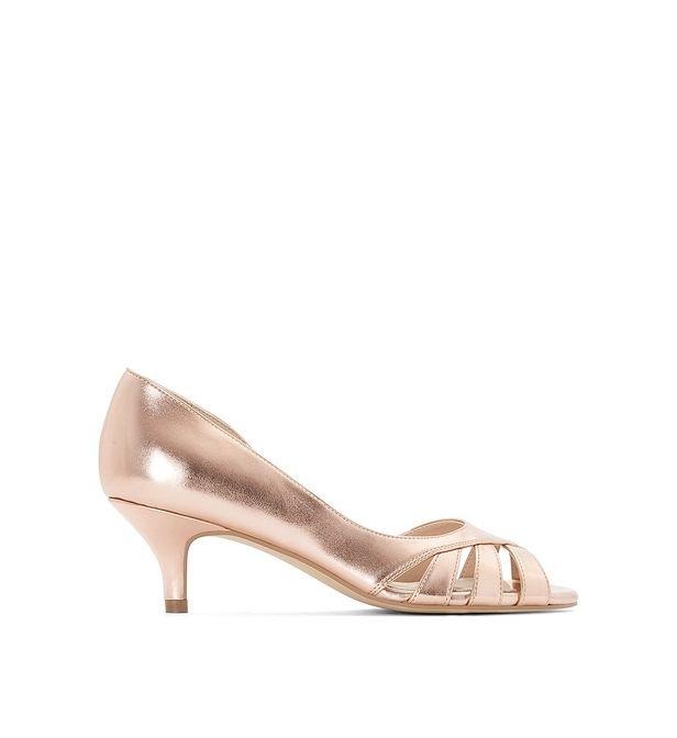 Escarpins métallisés   Escarpins, Chaussure mariage et