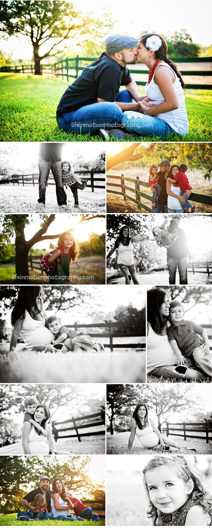 Ideas for our own family photo session in a few weeks! :)    Family Maternity Session - love!