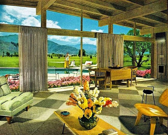 228 Best 1950s Interiors Images On Pinterest