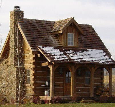 670 best cabins images on Pinterest Log cabins Cozy cabin and