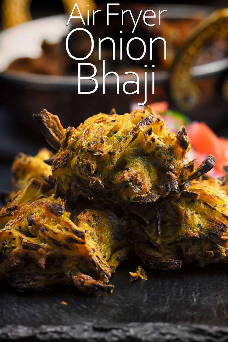 Air Fryer Onion Bhaji Recipe Onion bhaji, Air fryer