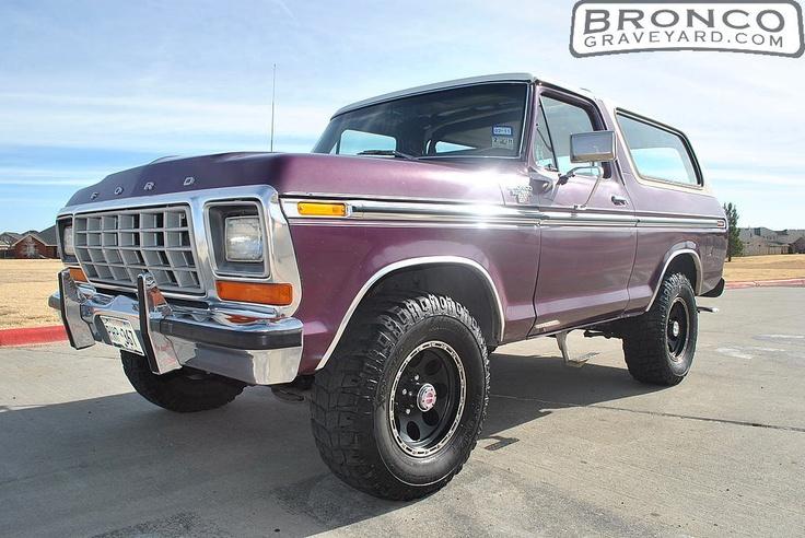 Jeff's Bronco Graveyard - Reader's Ride #11639: 1978 Ford Bronco