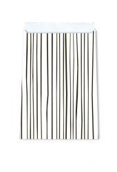 nr. 21 Lines Black vlakke zakjes / ab 12x19 17x25