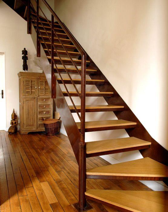 304 best images about un escalier en acier et bois on pinterest stairs 40 years and. Black Bedroom Furniture Sets. Home Design Ideas