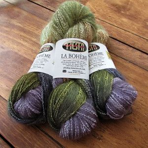 Enter to win three skeins of La Boheme yarn from Fiesta through AllFreeKnitting! Make your next project extra special with this luxurious yarn.