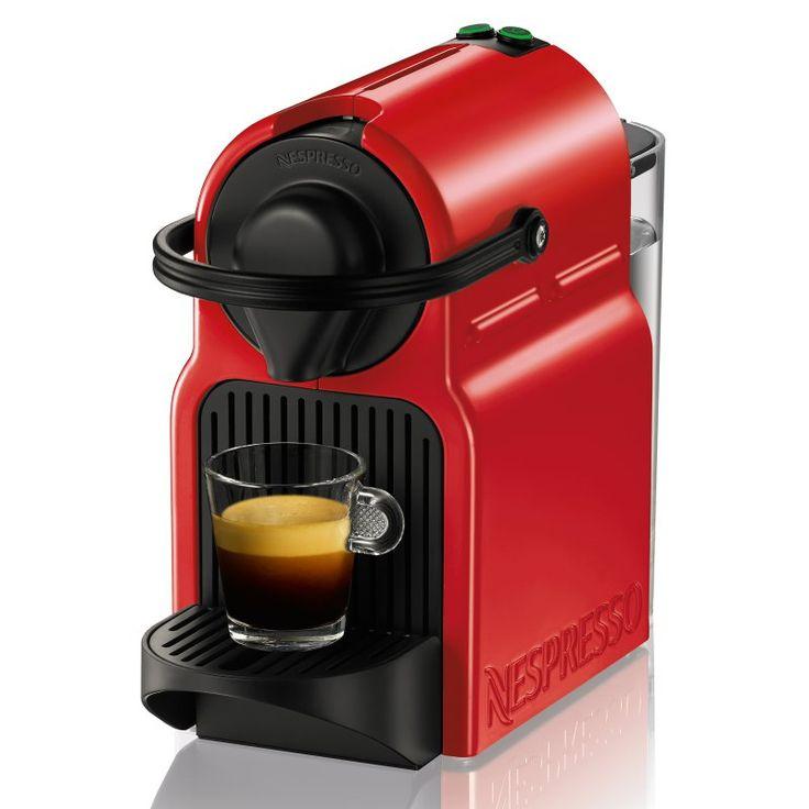 Nespresso Inissia Red Standalone Espresso Machine - C40-US-RE-NE