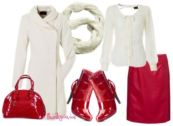 Palton dama alb - Piesa de rezistenta in tinuta alb-rosu | Sfaturi si Recomandari Utile – Thank You #paltondamaalb