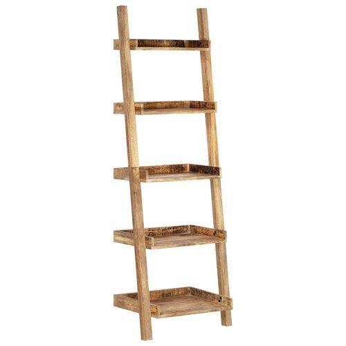 Iker Ladder Bookcase Union Rustic Colour Cream Bookcase Ladder Bookcase Rustic Colors