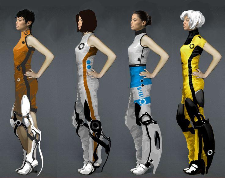 Portal 2 Concept Art