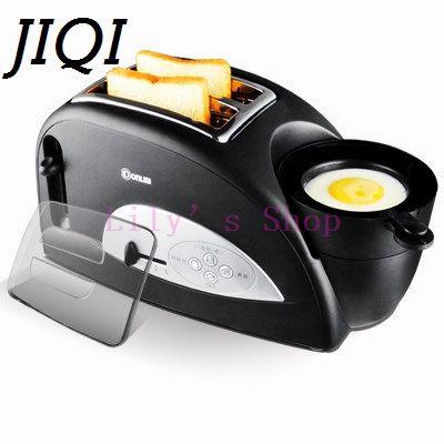 Новое Прибытие мини Бытовая Выпечки завтрак чайник тостер хлеб Жареное Яйцо Плита Завтрак Machine1200W ЕС plug Евро