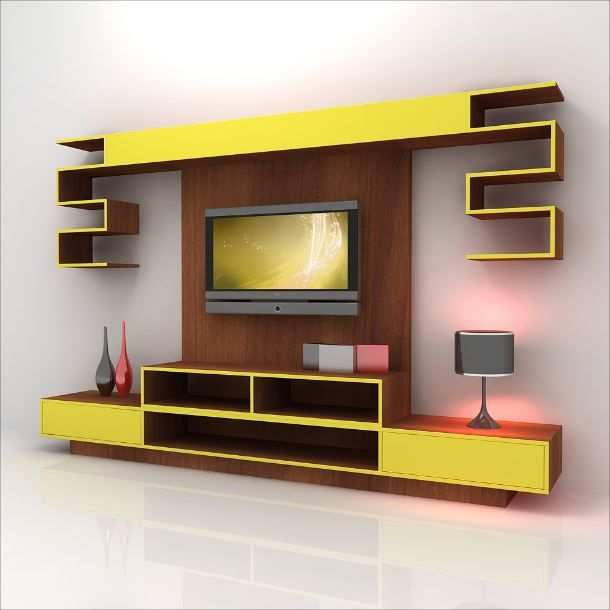 Best Tv Wall Design Ideas On Pinterest Tv Walls Tv Wall - Bedroom design with lcd tv