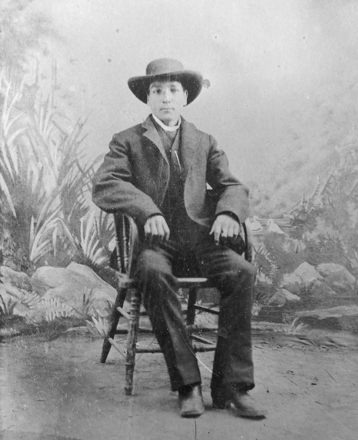 "J.N.""Six-shooter Newt"" Adams at age 18 in 1888. Adams played a major role in the development of Southeastern Idaho. Adams was the first white (non-Native American) child born in what is now Jefferson County, Idaho. During his lifetime he was an entrepreneur, outfitter and explorer, an Army guide and he broke horses for both stage companies and the Army during the Spanish American war."