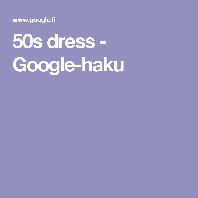 50s dress - Google-haku