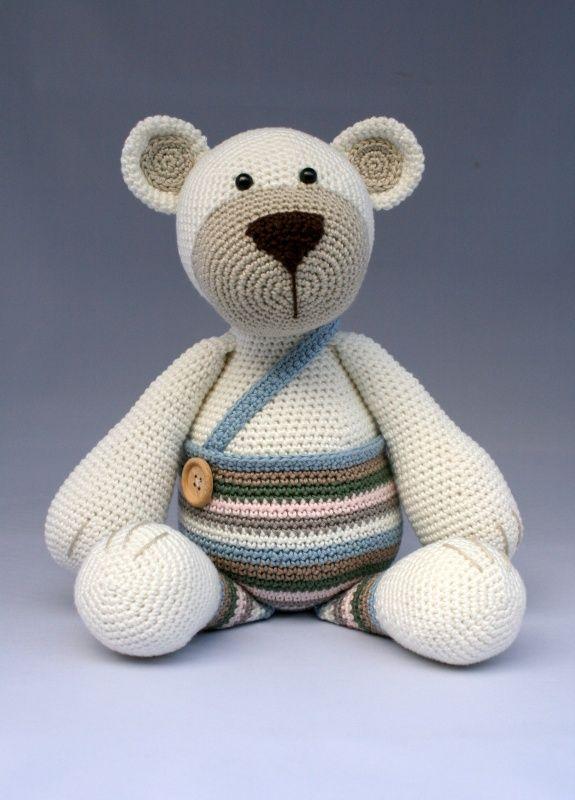 Amigurumi Big Bear : 2511 best images about amigurumi on Pinterest Girl dolls ...