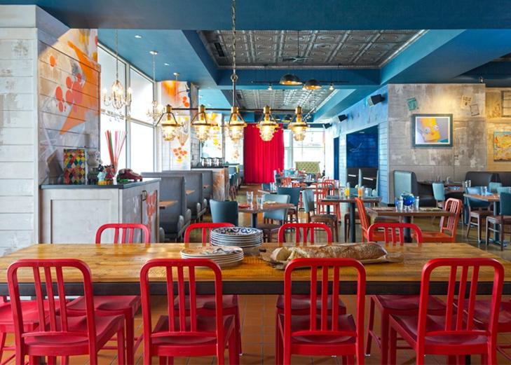 Boston, MA, USA - Happy's Bar and Kitchen - Elkus Manfredi Architects::
