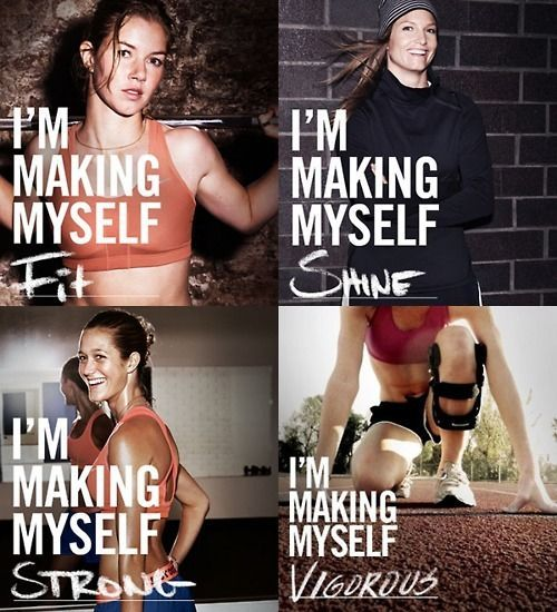 Healthy New Year's Resolution Inspiration - Im making myself all these things.