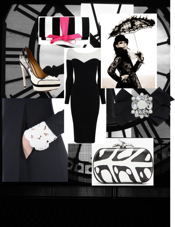 """""""Black & White"""" by pknoops on Polyvore"""