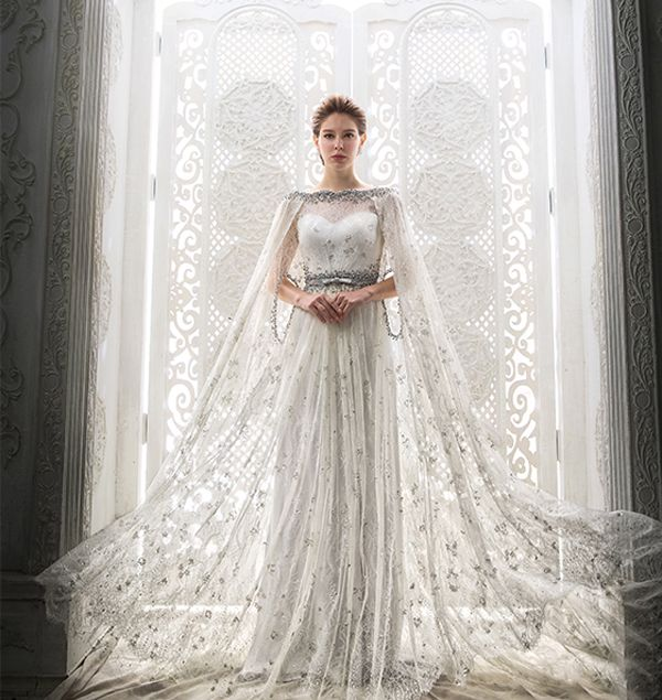 Ice Queen Style 25 Stunning Wedding Dresses For Winter Wonderland Only Gowns