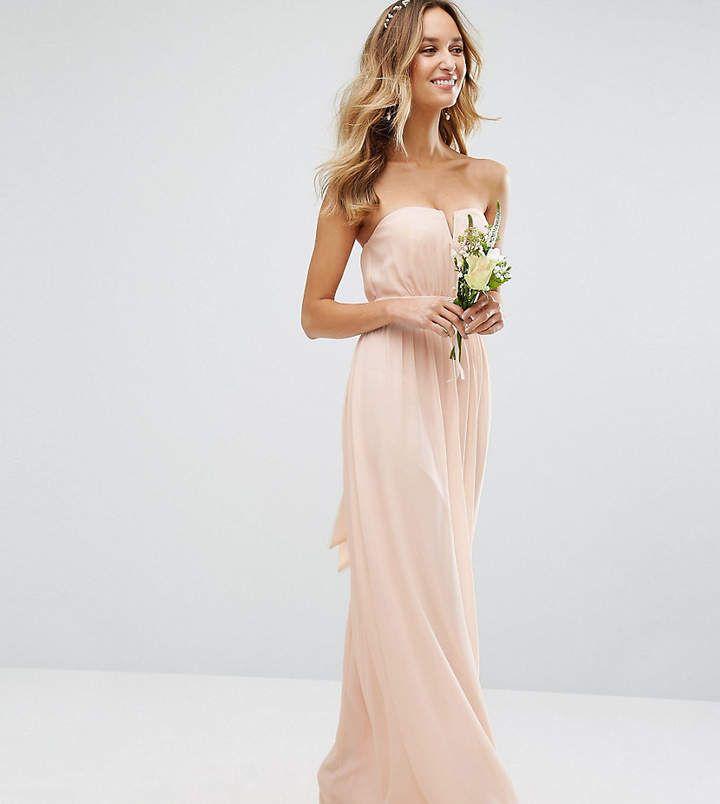Tfnc Wedding Bandeau Maxi Dress