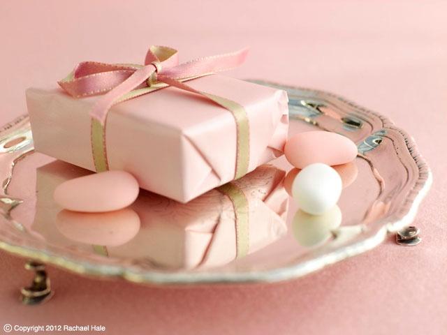 Sandra Kaminski  #wedding package #pink gift # pastel almond #wedding almonds #antique silver #shabby chic