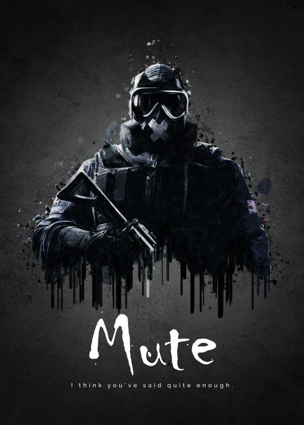 Pin By That Guy On Rainbow Six Siege Art In 2020 With Images