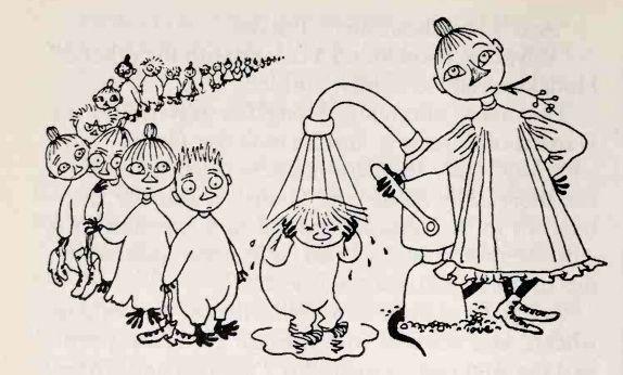 Moominpappa's Memoirs by Tove Jansson.....huoletonta arkea ja päivänpaistetta meille molemmille!