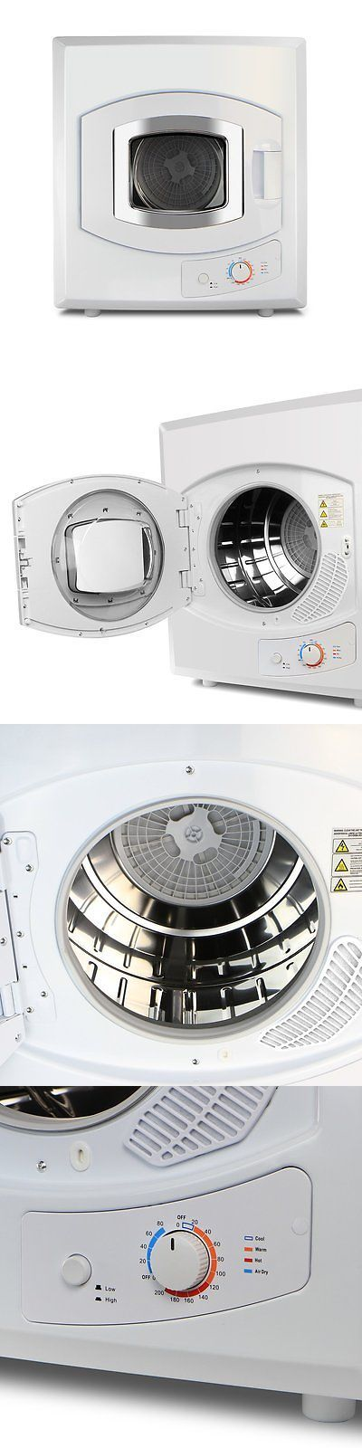 Dryers 71254: Xtremepowerus Portable Tumble Dryer Stainless Steel Drum Compact Clothes For Rv -> BUY IT NOW ONLY: $331.02 on eBay!