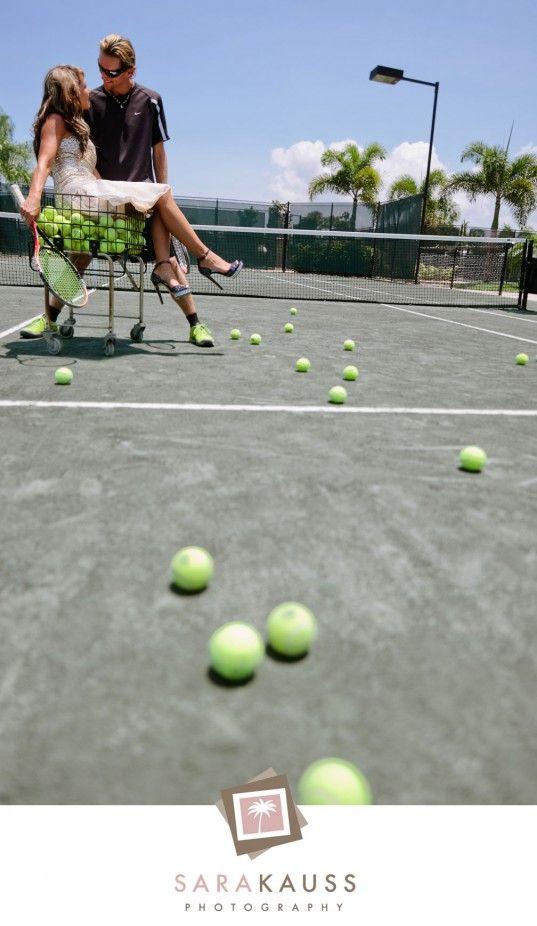 Tennis Engagement Photos!