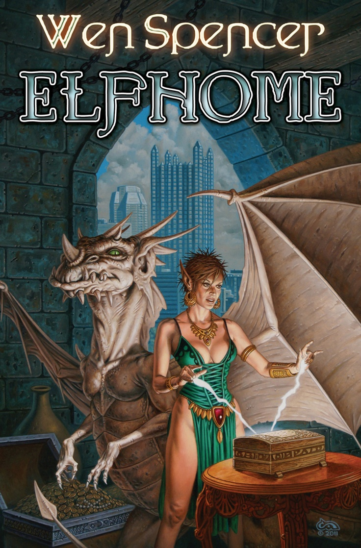Elfhome, By Wen Spencer Art By Clyde Caldwell  Http: