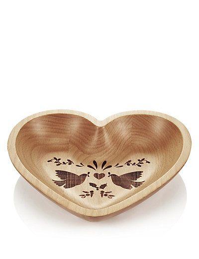 Folk Wooden Bowl | M&S