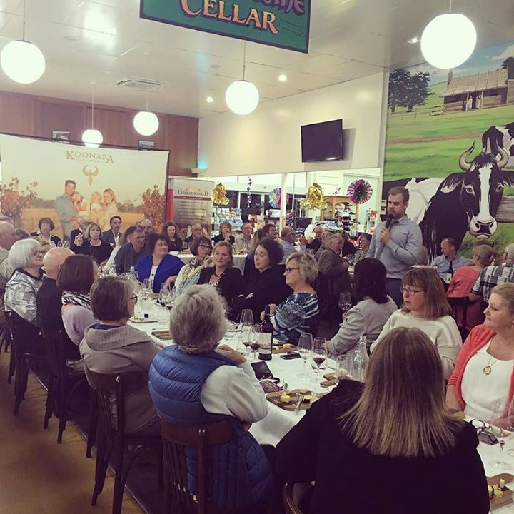 Wine and cheese tasting night at #cheeseworld tonight with a full house! #destinationwarrnambool #allansford #eat3280 #saycheese http://ift.tt/2fNfjvx