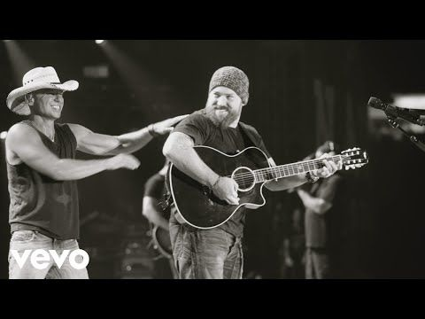 Kenny Chesney Zac Brown Band Guest on Live in No Shoes Nation