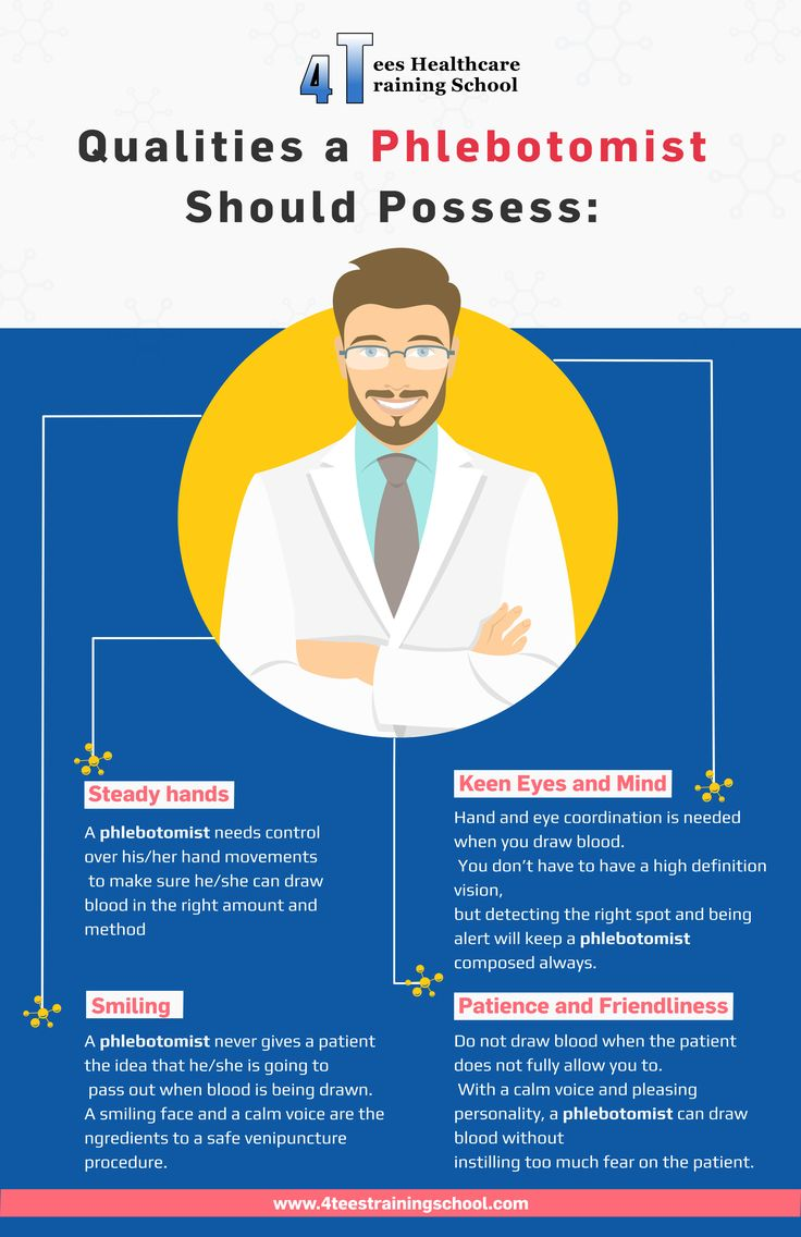Qualities a Phlebotomist Should Possess