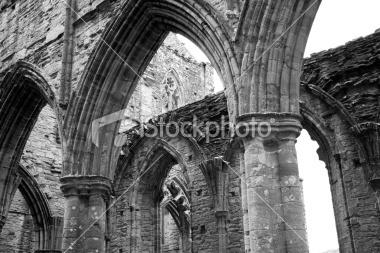 Tintern Abbey, Wales, UK