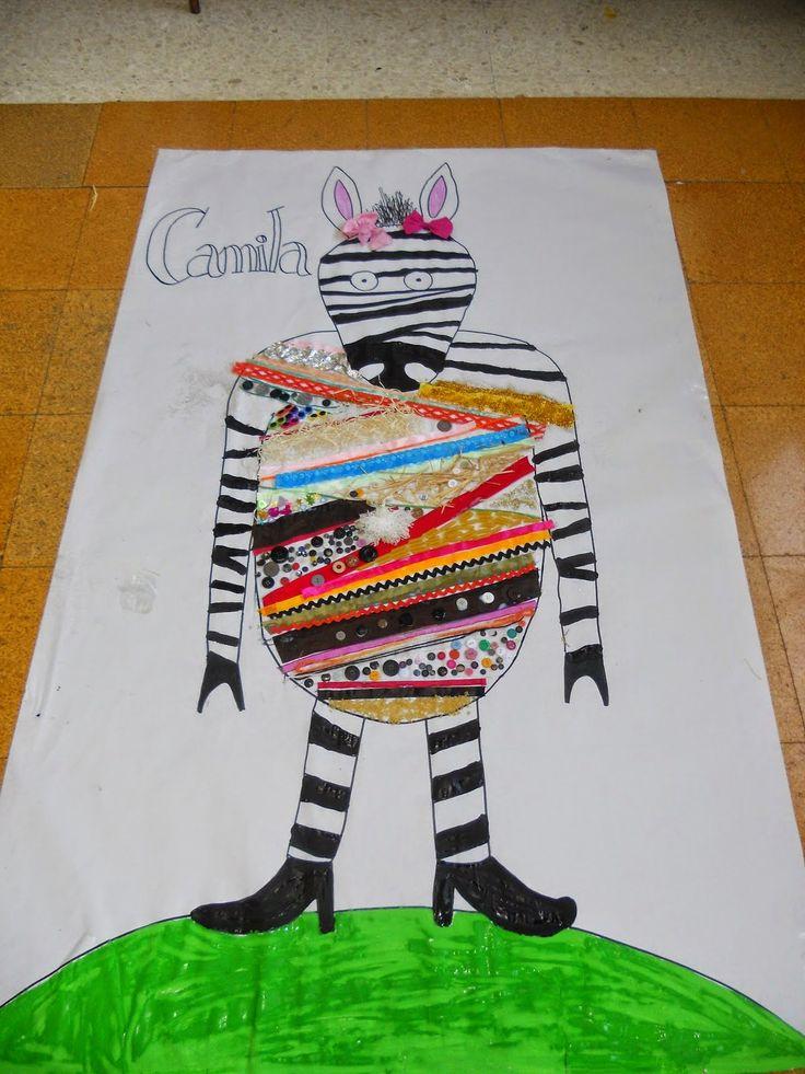 """La Cebra Camila           """"Allá donde se acaba el mundo,   en el país donde da la vuelta el viento,   vivía una pequeña cebra llamada Cam..."""