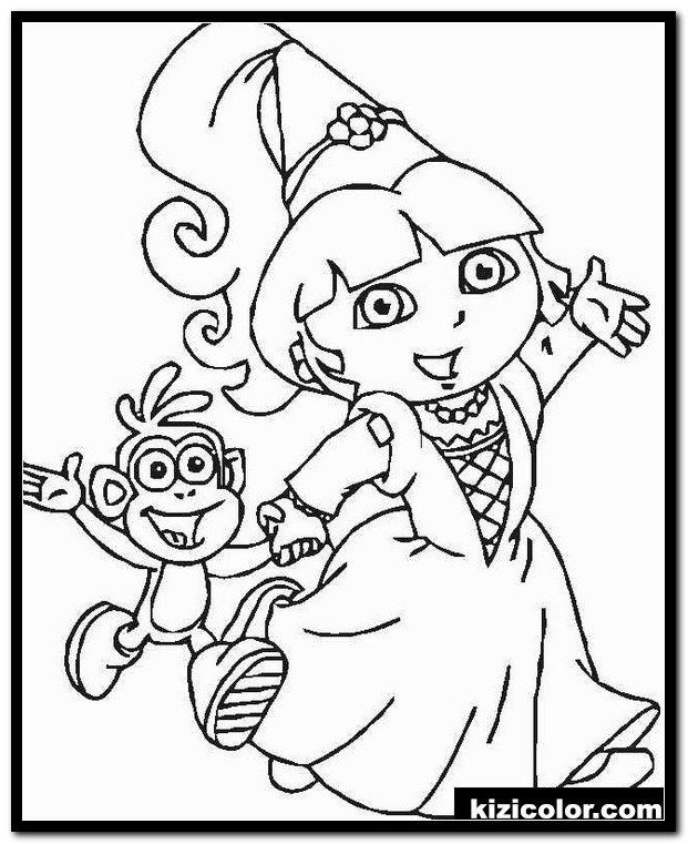 Dora And Friends Coloring Pages Dÿz Free Printable Dora Coloring Pages 17 Dora Coloring Dora Coloring Coloring Pages Cartoon Coloring Pages
