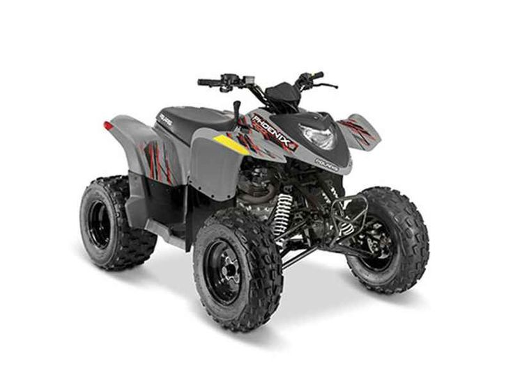 New 2017 Polaris Phoenix 200 Avalanche Gray ATVs For Sale in Michigan. 2017 Polaris Phoenix 200 Avalanche Gray,