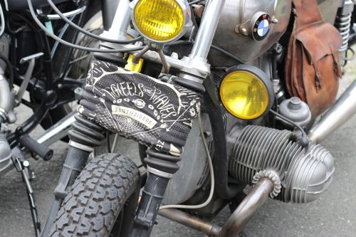 Garde boue maison pour le Wheels 2015 - by 21grammesmotorcycles