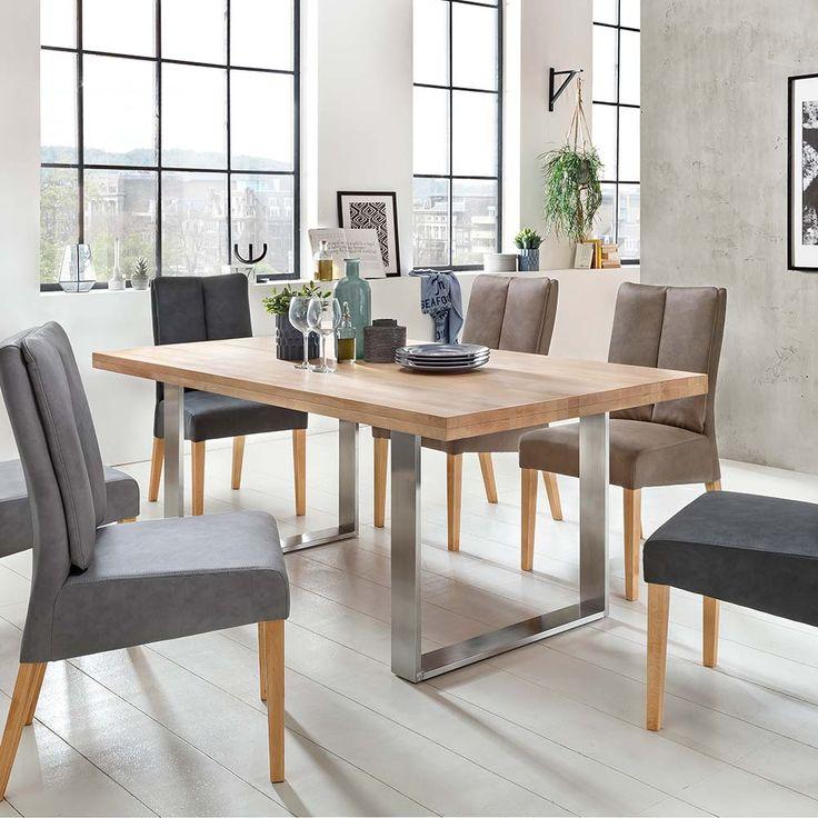 die besten 25 tischgestell edelstahl ideen auf pinterest. Black Bedroom Furniture Sets. Home Design Ideas