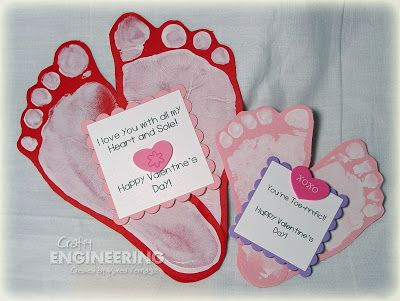 ADORABLE! Kids Valentines  Could be gifts for grandparents/ parents