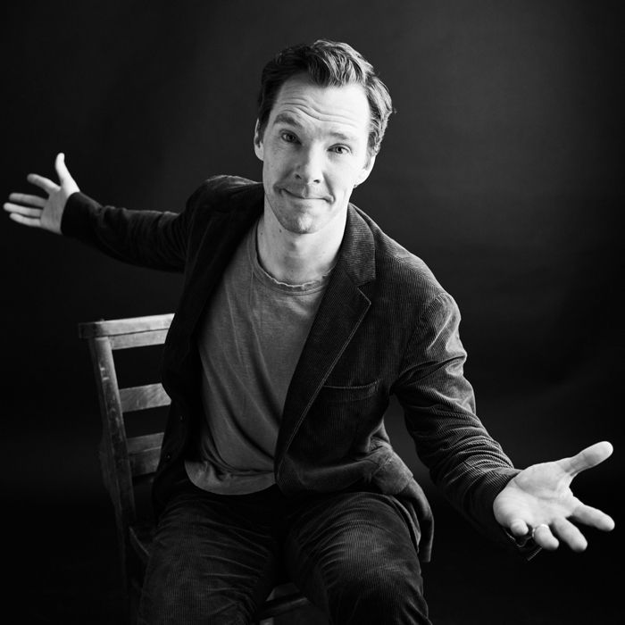 """Benedict Cumberbatch poses at Variety's portrait studio in between interviews for his film """"The Current War."""" Image: Billy Kidd"""