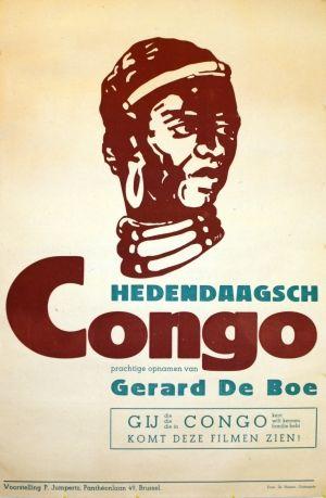Dutch Congo Exhibition, 1947 - original vintage poster listed on AntikBar.co.uk