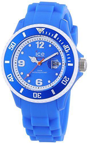 Ice-Watch Unisex - Armbanduhr Ice Sunshine Analog Quarz Silikon SUN.NBE.S.S.13 - http://uhr.haus/ice-watch/ice-watch-unisex-armbanduhr-ice-sunshine-analog-s-2