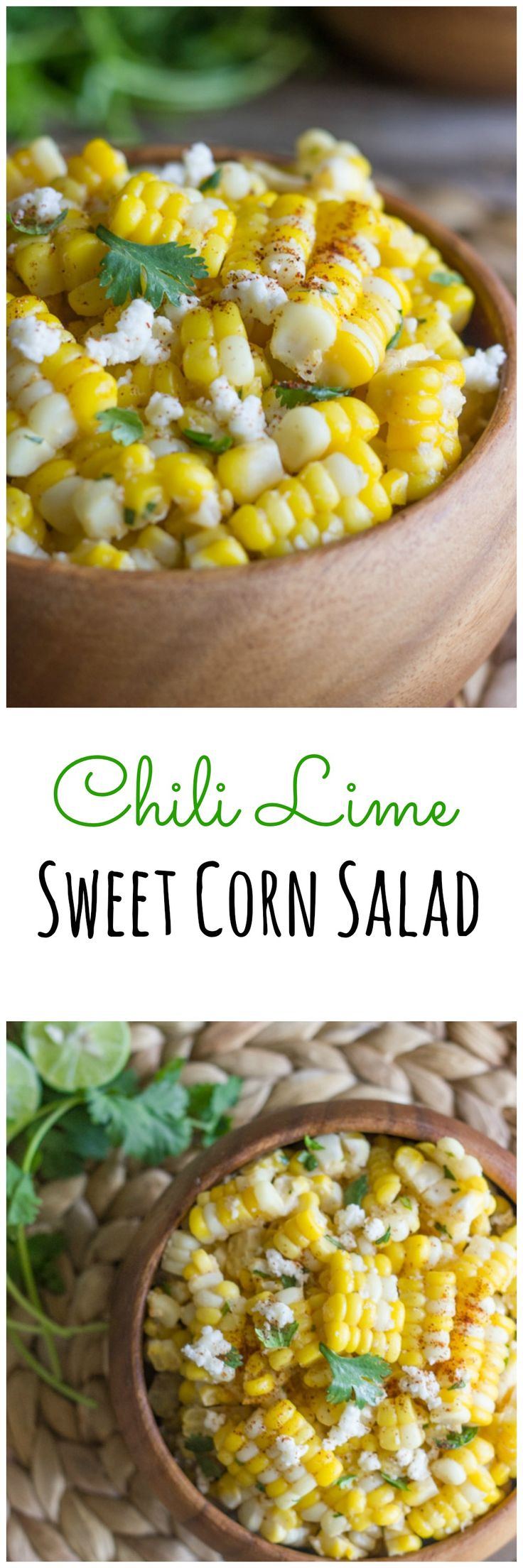Chili Lime Sweet Corn Salad