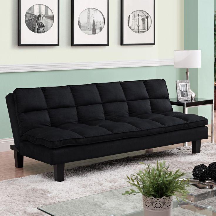 Pillow-Top Futon and Mattress