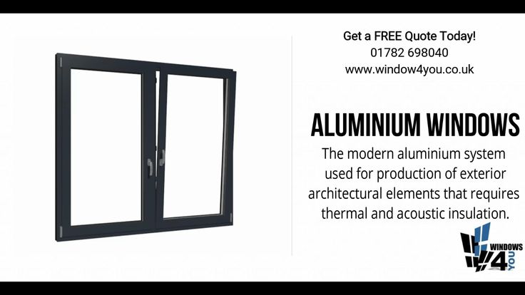 Aluminium Windows  The modern aluminum system used for production of exterior architectural elements that requires thermal and acoustic insulation.  Get a FREE Quote Today! · 10 Year Guarantee · 📞 01782 698 040 ✔ www.window4you.co.uk 🗺 Unit 6 Dalewood Rd Newcastle ST5 9QH  #stokeontrent #newcastleunderlyme #manchester #liverpool #walsall #stafford #derby #crewe #chester #warrington #northwich #shrewsbury #windowsanddoors #doors #blinds #homedecor #homedesign #homeimprovement